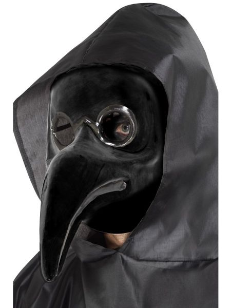 Authentic Plague Doctor Mask - Black